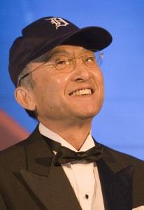 Toyota President wears Detroit Tigers Cap By: Joe Polimeni